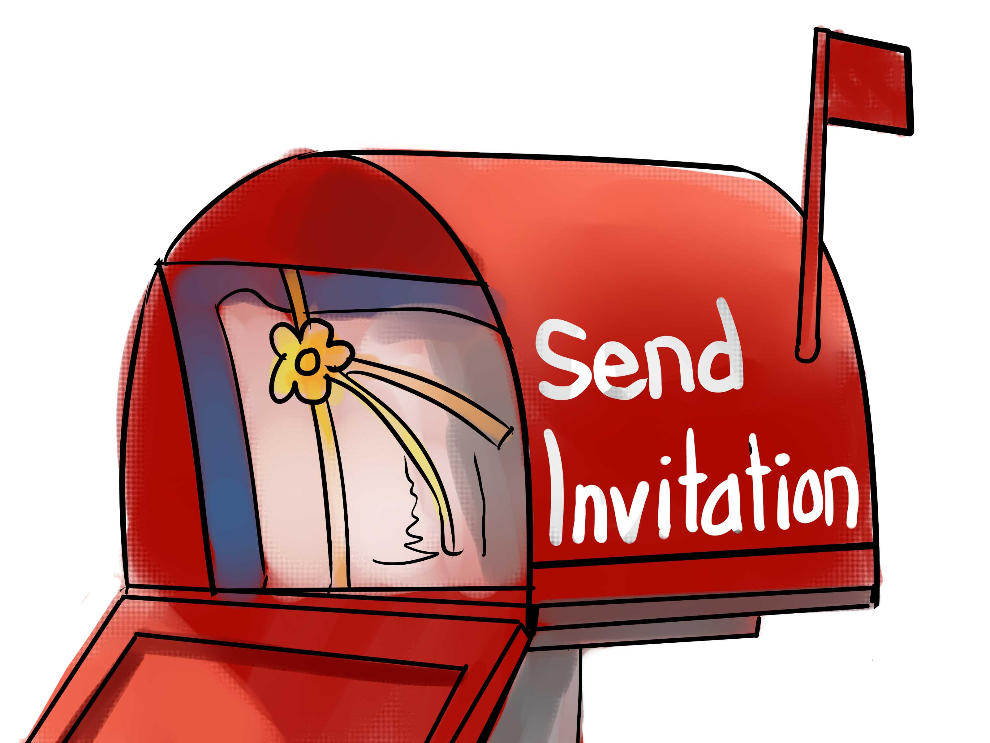 Card clipart mail. How to make wedding