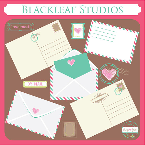 cards clipart mail