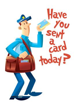 best send out. Card clipart mail
