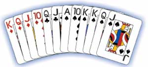 Cards clipart pinochle. How to play partnership