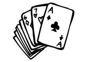 Welcome to the borough. Cards clipart pinochle