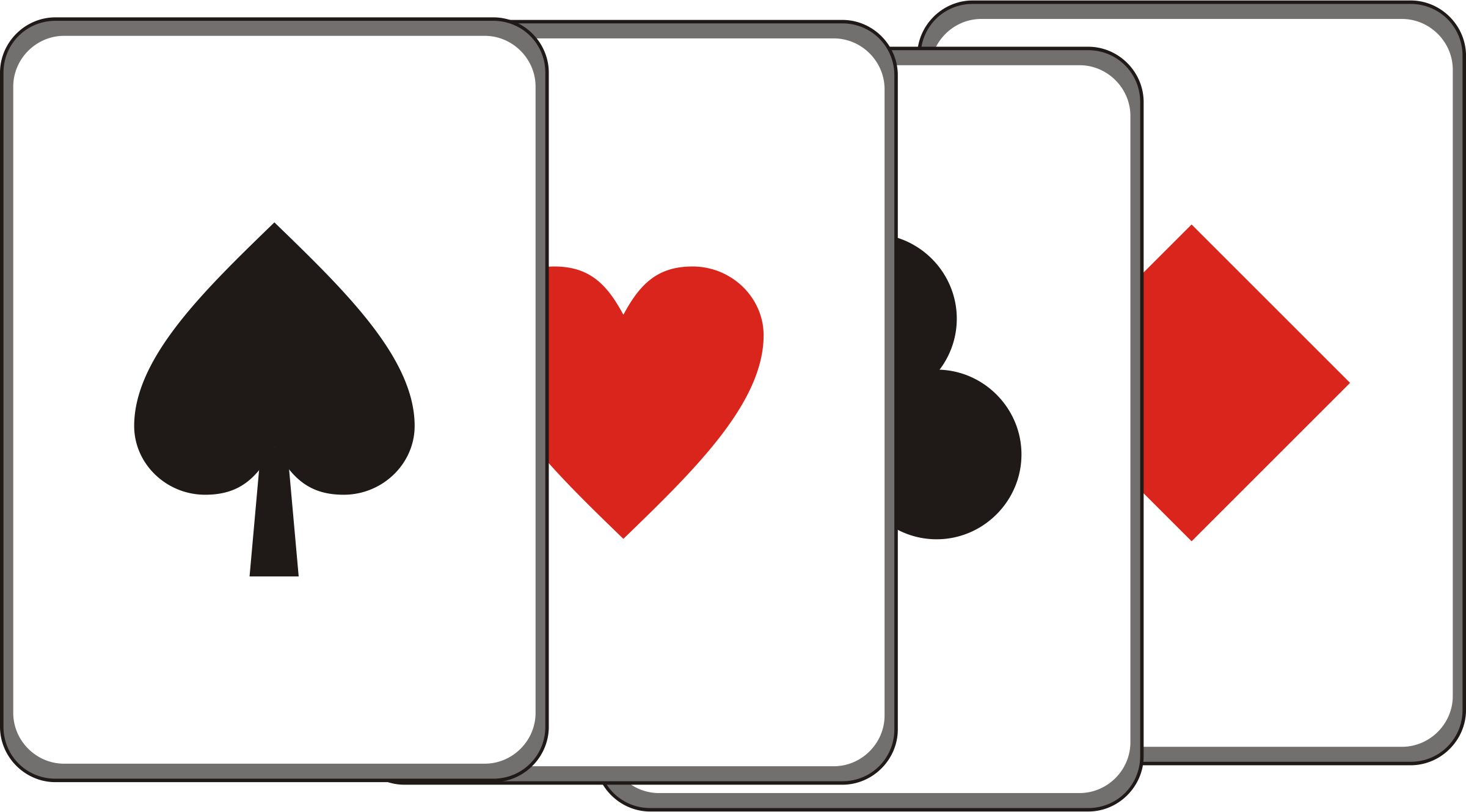 Game cards cliparts free. Card clipart playing