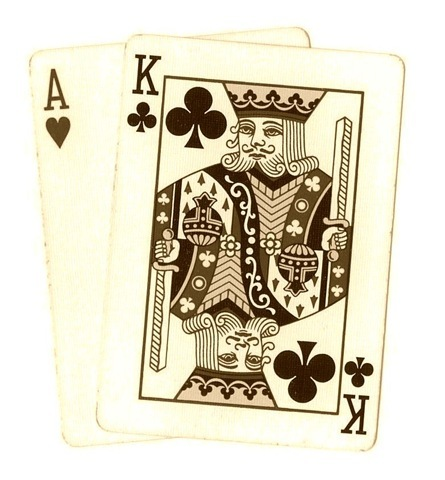 Free clip art vintage. Card clipart poker