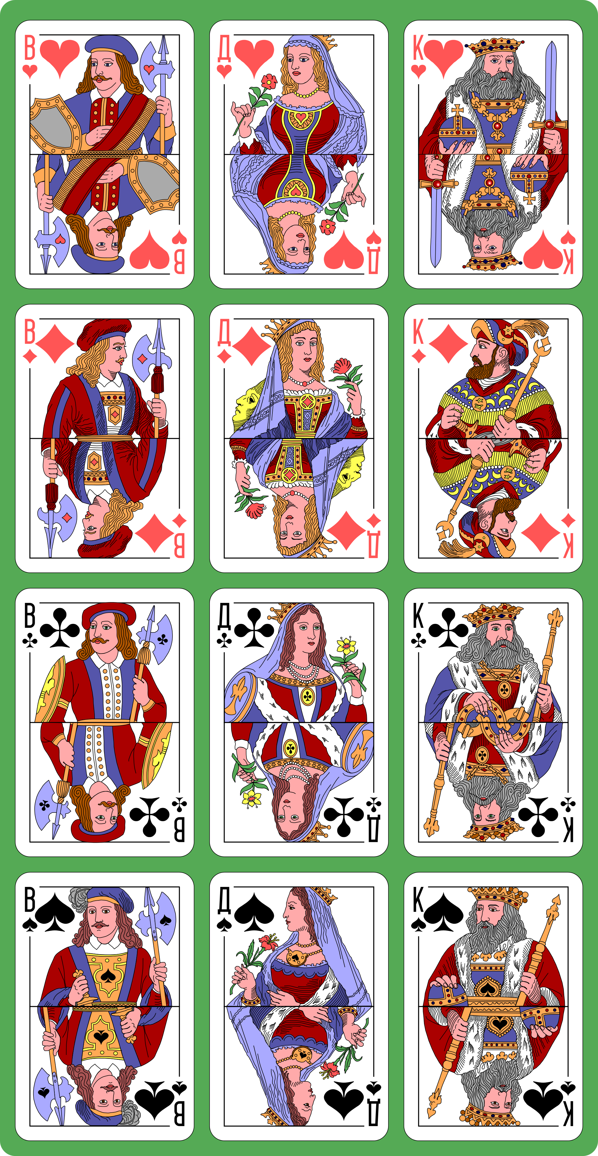 Cards clipart printable. Charming deck of playing