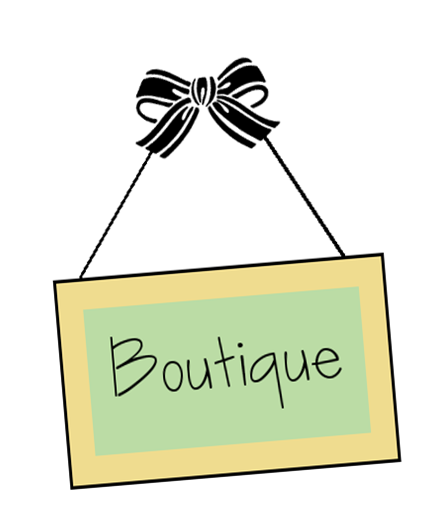 Catonsville boutique shop. Card clipart senior center