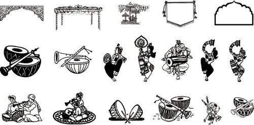Marriage clipart shadi. Card symbol lord ganesha