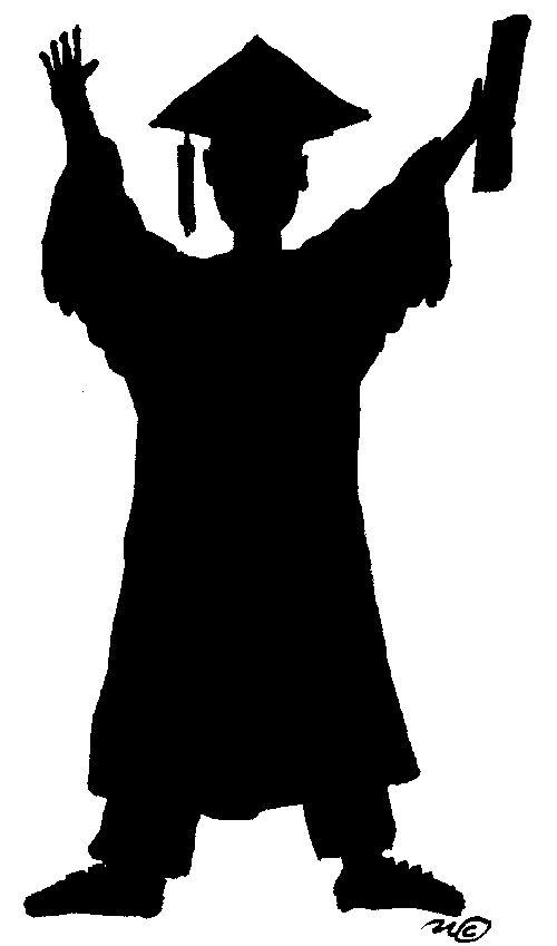 Card silhouette