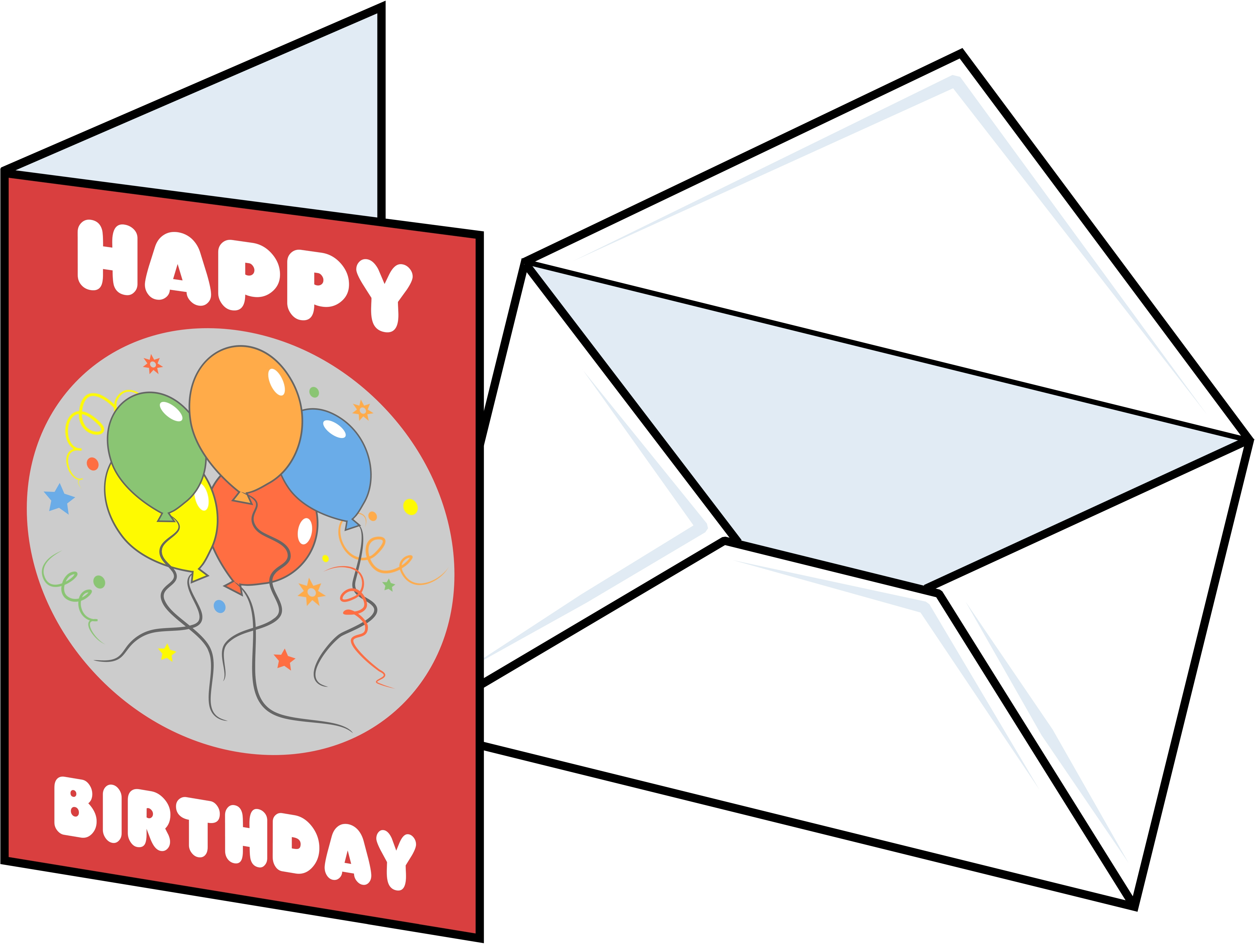 Free birthday cliparts download. Card clipart