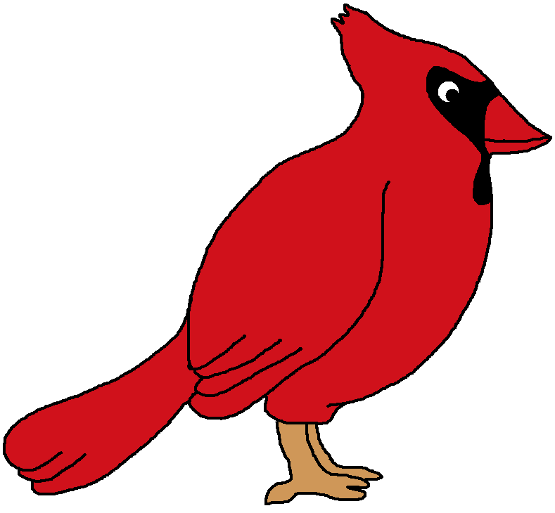 Northern Cardinal Bird Clipart
