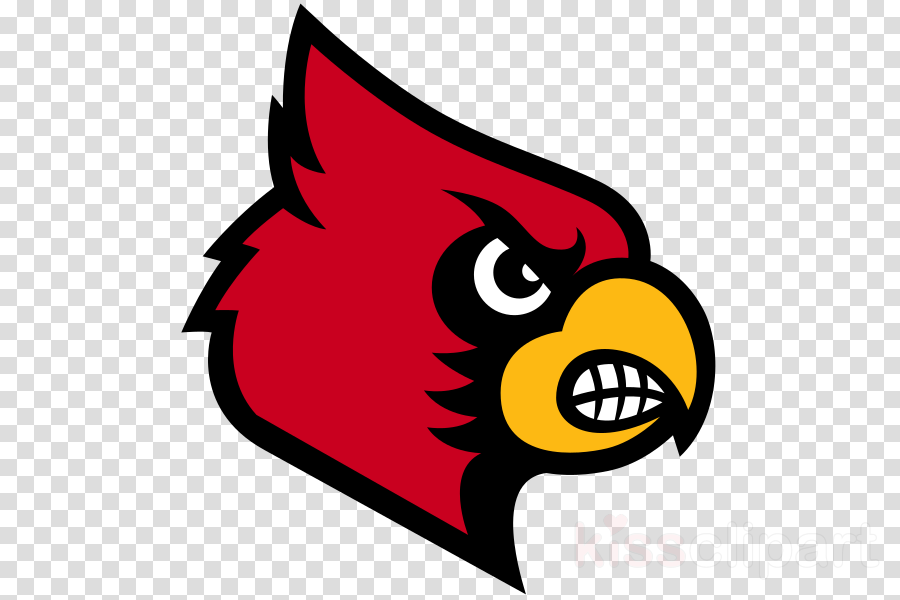 Cardinal clipart cardinal face. Bird line art sports
