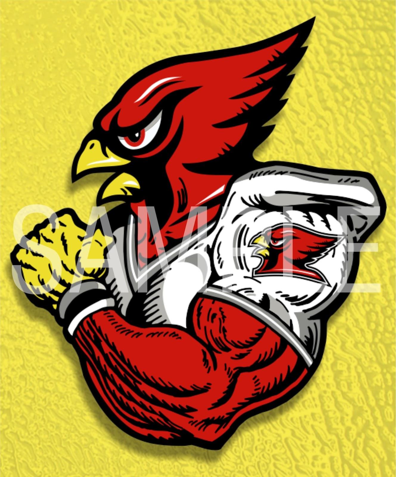 Cardinal clipart cardinal football. Earlfergusonstudio player clip art