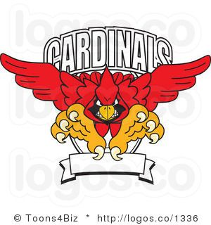 Arizona cardinals cartoons logo. Cardinal clipart cardinal football