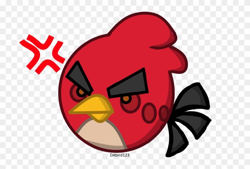 Cardinal clipart chibi. Angry bird png download