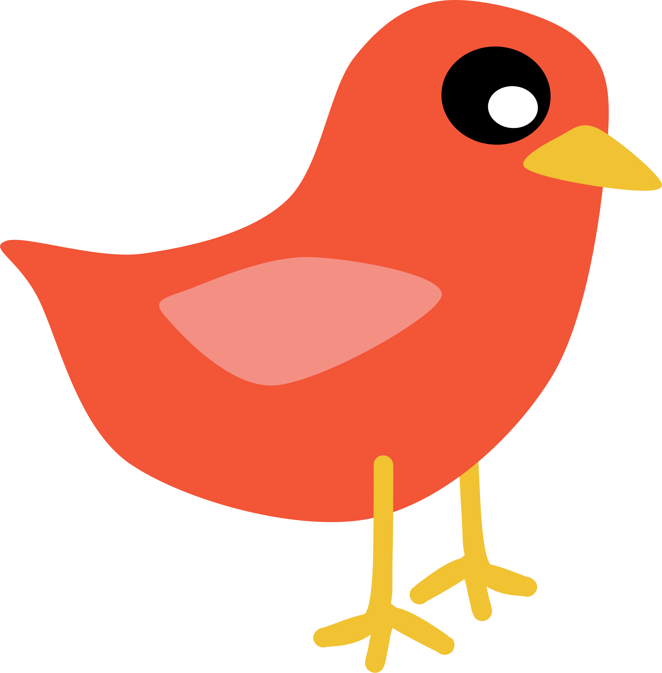 Red big image png. Pet clipart blue bird