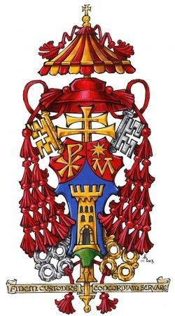 best heraldry images. Cardinal clipart church