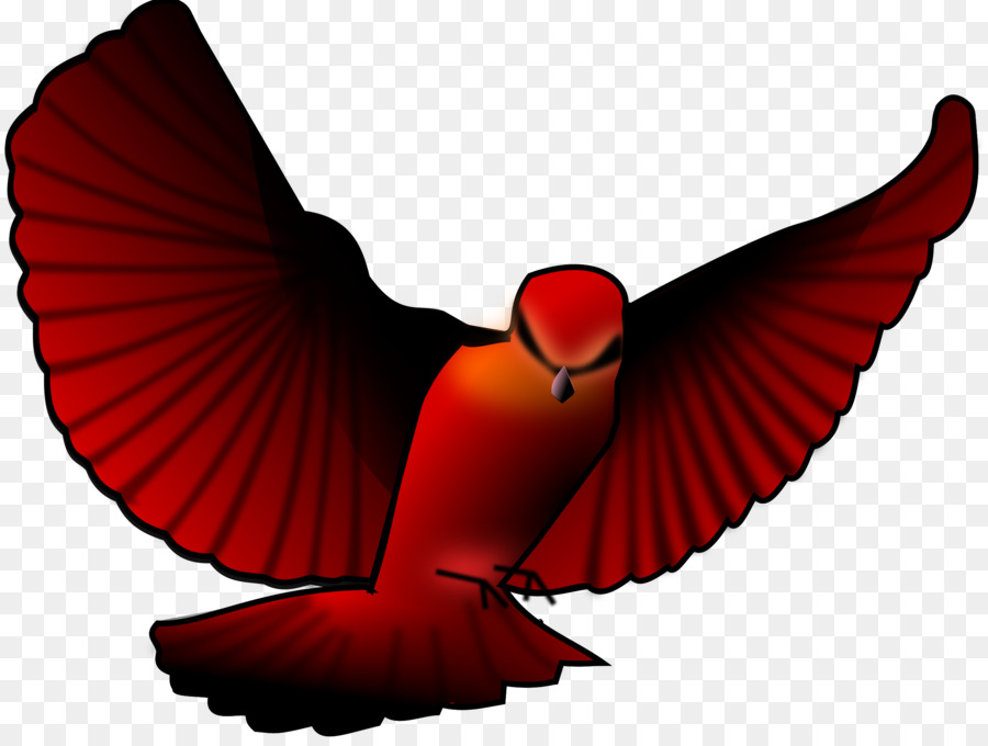 Bird northern clip art. Cardinal clipart flying