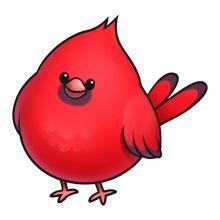 Cute kid clipartix . Cardinal clipart happy
