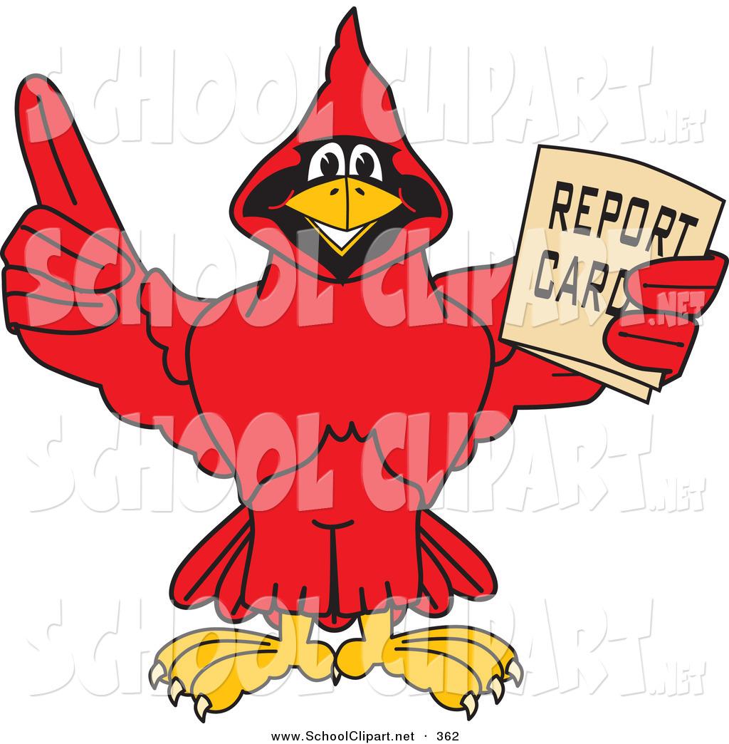 Clip art of a. Cardinal clipart happy