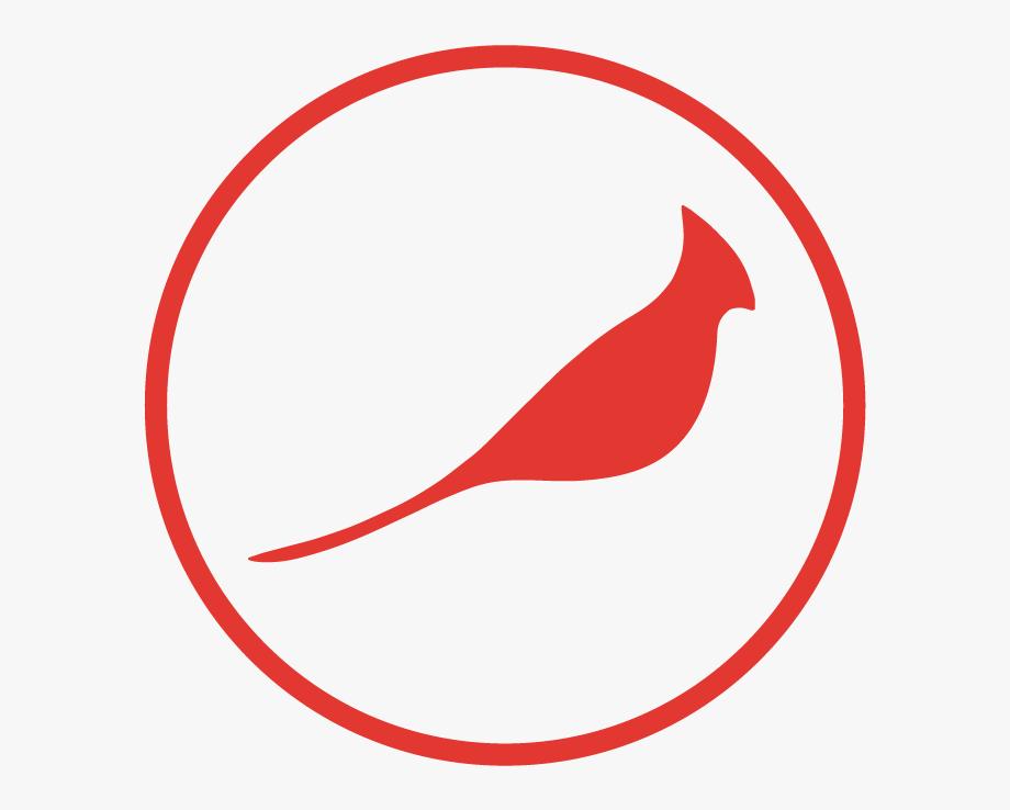Dead red logo free. Cardinal clipart illustration
