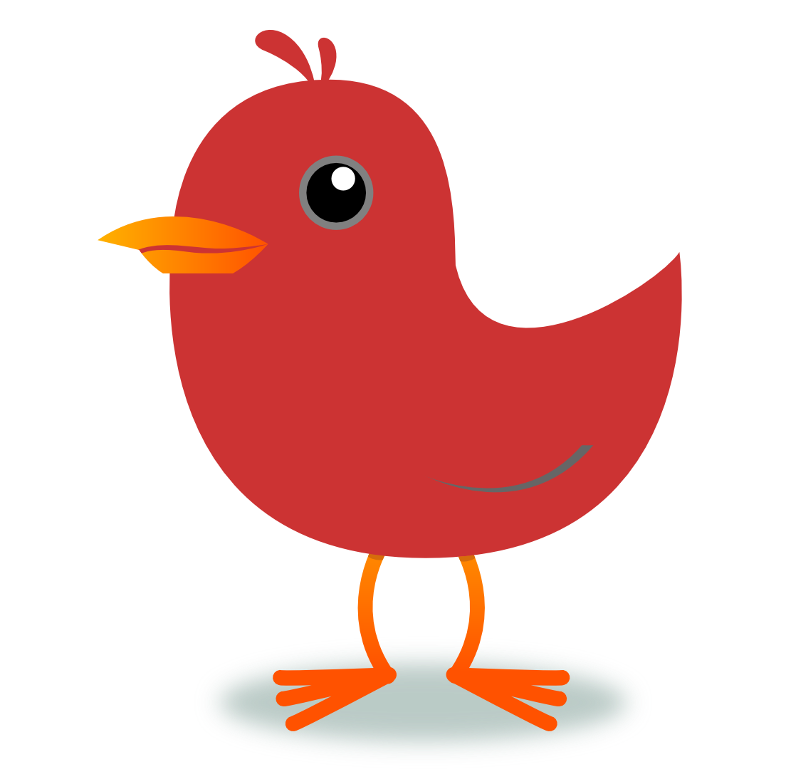 Cardinal red robin pencil. Worm clipart bird