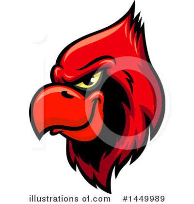 By vector tradition sm. Cardinal clipart illustration