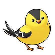 Cardinal clipart kawaii.  a e c