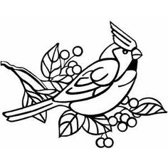 Cardinal clipart line drawing. At getdrawings com free