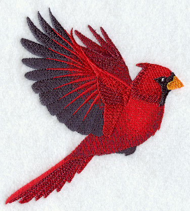 Machine embroidery designs at. Cardinal clipart male