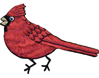 Cardinal clipart male. In flight red christmas