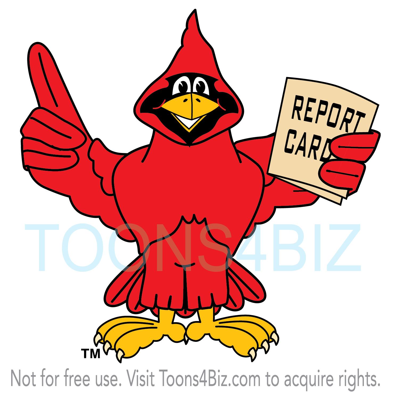 . Cardinal clipart mascot