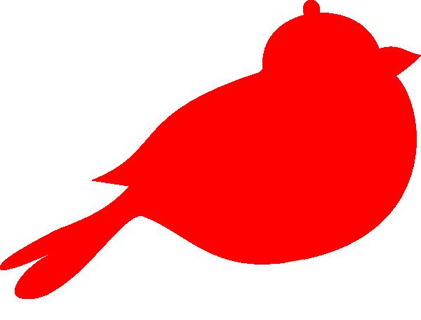 Cardinal clipart red bird. Silhouette clip art at