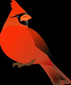 Clip art at clker. Cardinal clipart red robin