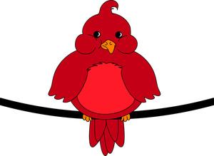 Cardinal clipart red robin. Bird clip art free