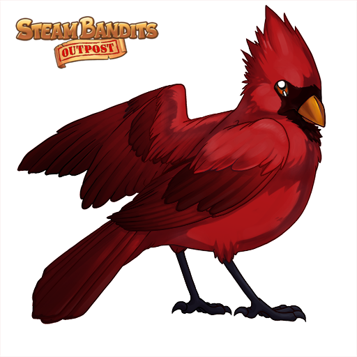Steam bandits peterson skintexbluejayvdiffuseapng. Cardinal clipart shelby