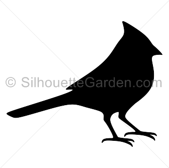Cardinal clipart silhouette. Clip art download free