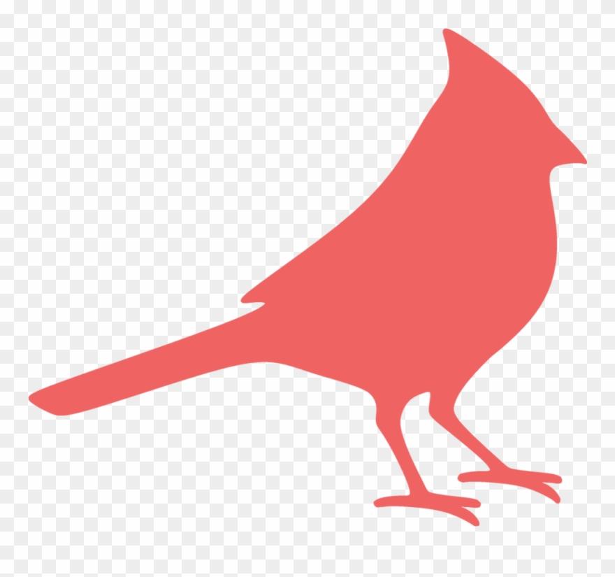 Clip art png download. Cardinal clipart silhouette