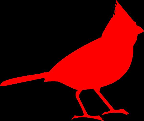 Cardinal clipart silhouette. The basic birder wild
