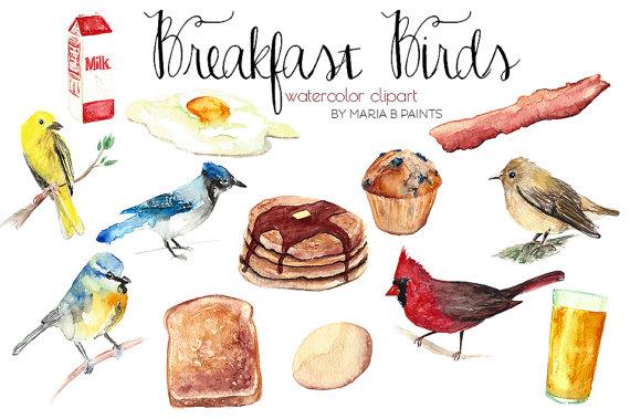 Cardinal clipart song bird. Watercolor clip art early