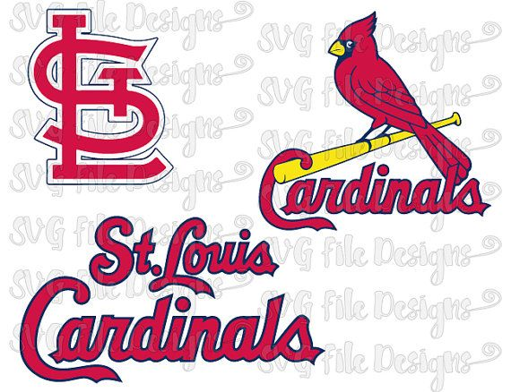 Cardinal clipart st louis cardinals. Baseball mlb logo cutting