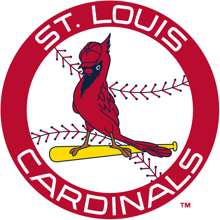 Primary logo national league. Cardinal clipart st louis cardinals