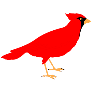 Cliparts of free download. Cardinal clipart svg