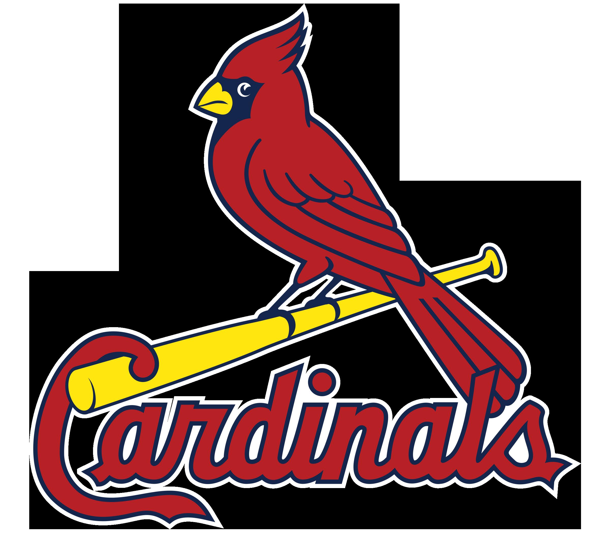 St louis cardinals logo. Cardinal clipart vector