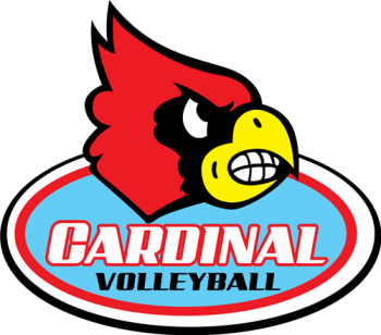 Cardinal clipart volleyball. Colwich elementary school varsity