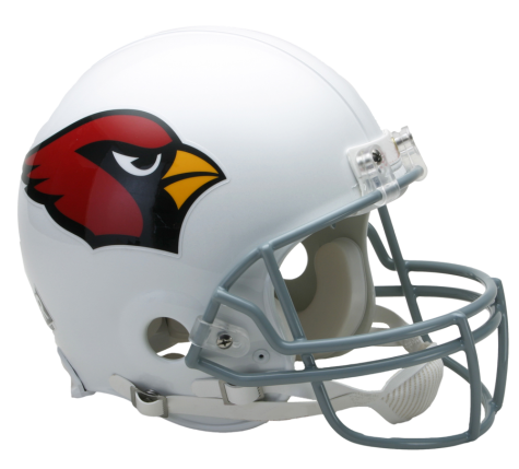 Cardinals helmet png. Arizona vsr authentic