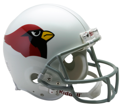 Arizona vsr authentic throwback. Cardinals helmet png