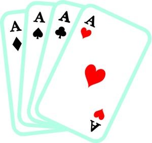 Cards panda free images. Poker clipart bridge card
