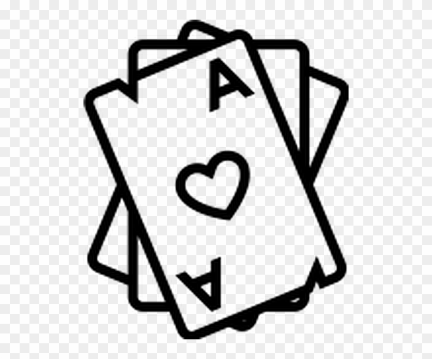 Cards clipart. Tattoo casino oldschooltattoo playing