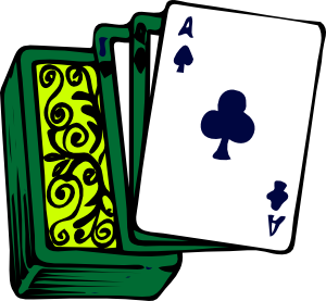 Deck of clip art. Cards clipart animated