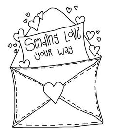 collection of valentine. Cards clipart black and white