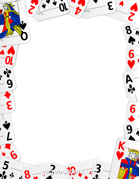 Cards clipart boarder. Pin by muse printables